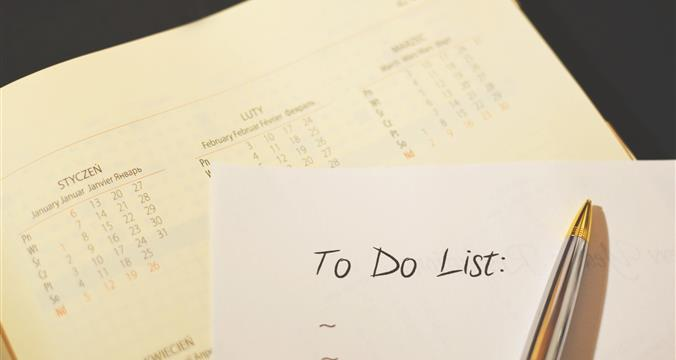 Create a To-Do List for Your College Search