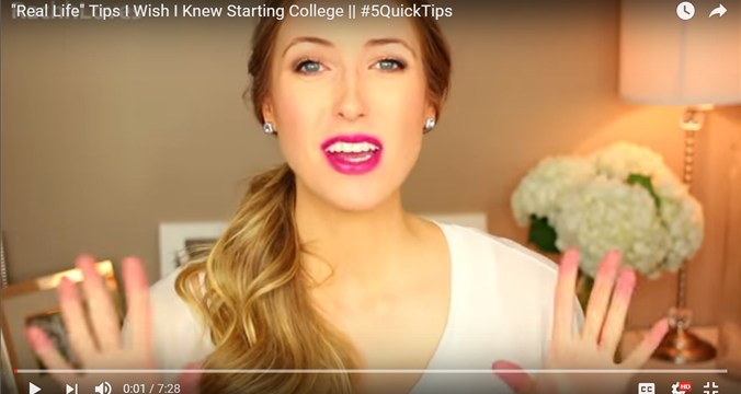 """Real Life"" Tips I Wish I Knew Starting College"
