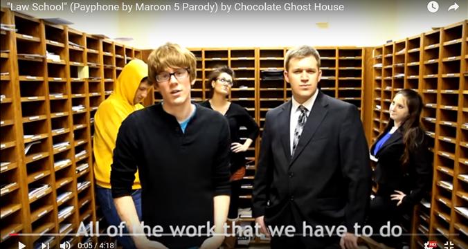 """Law School"" (Payphone by Maroon 5 parody)"
