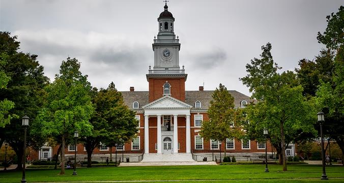 Johns Hopkins University  - MS/PHD