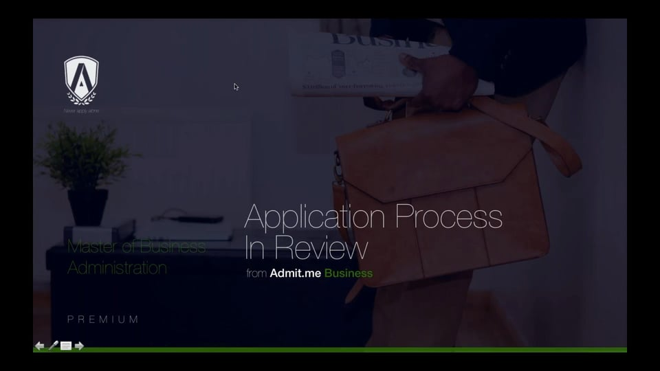 [Webinar] The Application Process In Review