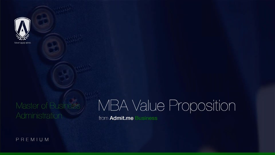[Webinar] The MBA Value Proposition