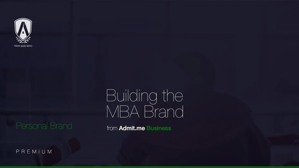 Building The MBA Brand