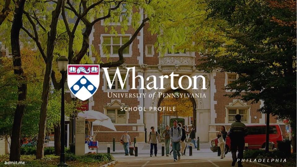 Cracking Wharton: The Inside Scoop