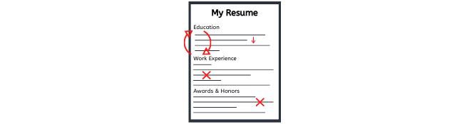 How to Edit a Grad School Resume